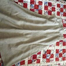 "Lovely RALPH LAUREN Linen SKIRT Long WAIST  26"" A-line ONLY WORN ONCE!"