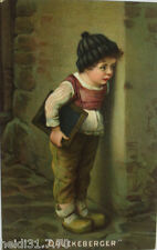 """ bambini,color LAVAGNA,inizio SCUOLA "" 1911,drückeberger,sig. H.KAULBACH"
