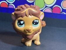 Littlest Pet Shop Mystery New Zealand Exclusive Lion Green Eyes #758 Authentic