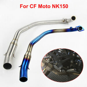 Slip for CF Moto NK150 Motorcycle System Exhaust Front Header Link Connect Pipe