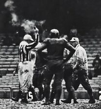 1950s NFL FOOTBALL Chicago CARDINALS New York GIANTS Soggy Game Photo Art 16x20
