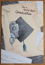"'Son Graduation' Large Me To You Card - Tatty Bear - 9""x6"" - Congratulations"