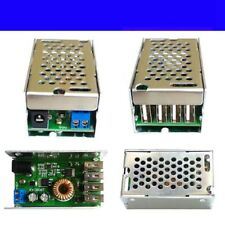 DC-DC Step-Down Module 4 USB Power Buck Converter Board 24V/12V to 5V 5A DT