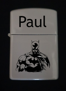 Personalised Batman  lighter