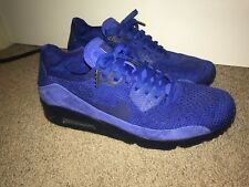 Nike Air Max 90 Flyknit 2.0 Racer Blue Size 9.5