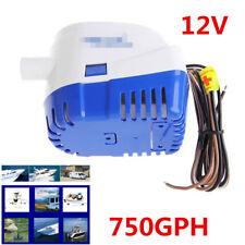 750GPH Boat Hulls/Bilge Automatic Submersible Bilge Auto Water Pump Float Switch