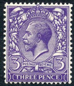 1922 3d very deep violet wmk Royal C unused o.g. Spec No N22(10).