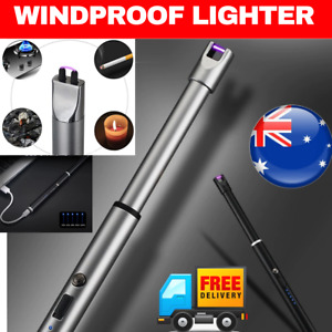 BBQ PLASMA Flameless USB Lighter Windproof Portable Kitchen Candle Rechargeable