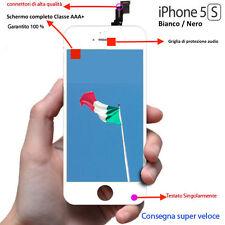 lcd iphone 5s schermo Bianco O Nero vetro touch screen display retina apple AAA+