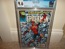 Spider-man 98 cgc 9.6 Last Issue - 12/98 Amazing john Byrne Variant Cover!