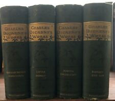 Set of 4 Books: Charles Dickens's Works (see List...) Routledge & Sons , Rare...