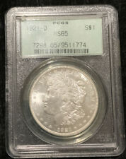 1921-D OGH $1 Morgan Silver Dollar PCGS MS65 Eye Appeal Strong Strike White Coin