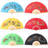 Chinese Martial Arts Folding Fan Dragon&Phoenix Pattern Bamboo Tai Chi Taiji New