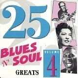 HOOKER John Lee, HOLIDAY Billie,... - 25 blues 'n' soul greats Vol. 4 - CD Album