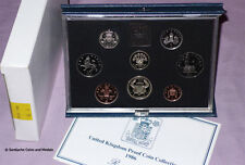 1986 ROYAL MINT PROOF SET OF COINS - Scottish Commonwealth Games £2 Coin