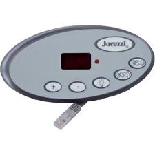 Jacuzzi® Spas topside 5 Button 2 Pump P.N. 2600-322