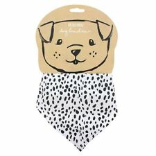 Adjustable Dog Bandana Dalmatian Print