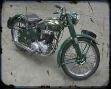 Bsa C11 02 A4 Metal Sign Motorbike Vintage Aged