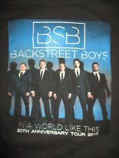 "2013 20th Anniv Backstreet Boys ""In a World Like This"" Concert Tour (Lg) T-Shirt"