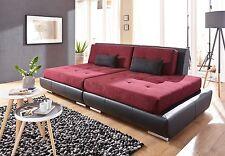 Big Sofa Tonus Federkern Webstoff / Kunstleder XXL Mega Couch Made in Germany