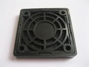 12 pcs Black Dustproof Dust Filter Used for 50x50mm 5cm DC Fan New