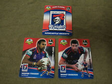 2007 RUGBY LEAGUE CLASSIC TAZO  TEAM SET - NEWCASTLE KNIGHTS