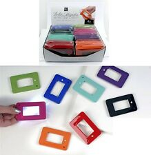 Pocket reading card led lighted magnifying glass Credit Card Magnifier BLACK