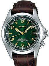 NEW SEI KO SARB017 Mechanical Alpinist Automatic Men's Leather Band Watch*Offer