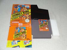 Donkey Kong Classics NES Spiel komplett mit OVP und Anleitung
