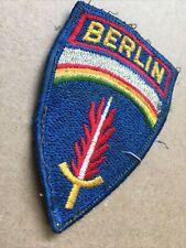 New listing Vintage Original Used German Made Berlin Tabbed Patch