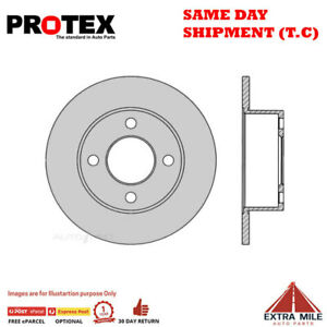 Ultra Select Rear Rotor Pair For AUDI 100/80/90/CABRIOLET B4 1983 - 1990