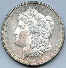 1882 S Morgan Dollar Choice Uncirculated Deep Mirror Proof Like