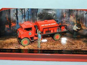 """MODIFIED Trux 1/50 Chevrolet Blitz Fire Tanker  """"NSW Bush Fire Brigade"""" boxed"""