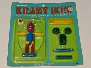 VTG 1969 Krazy Ikes - Robot - Sealed NOS
