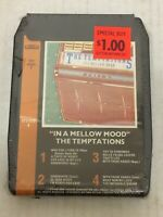 Temptations : In A Mellow Mood 8 Track Tape NOS NEW OLD STOCK SEALED.
