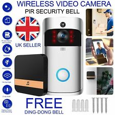Wireless Smart DoorBell Chime Home Security Camera System Wifi Remote Intercom