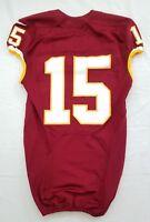 #15 No Name of Washington Redskins NFL Locker Room Game Issued Jersey