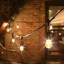 New Vintage Retro Style 48Ft 30 Bulbs Commercial Patio Ambient In/Outdoor Lights