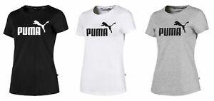 PUMA Damen Woman Essentials ESS Logo Shirt Tee / T-Shirt Kurzarm 851787