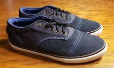 "Mens Dekline ""JAWS"" Blue Suede Skate Boarding Shoes  Size 11.5"