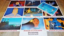 PACAHONTAS ! walt disney  jeu 10 photos cinema prestige grand format