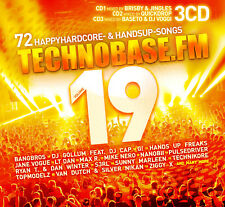 CD Technobase.FM Volume 19 Von Various Artists 3CDs