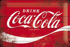 Nostalgic Art Blechschild Drink Coca Cola Coke 20 X 30 Cm #