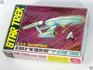 AMT STAR TREK U.S.S. ENTERPRISE THE THOLIAN WEB MODEL KIT SPACE SHIP TOY UNUSED