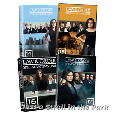Law & Order Special Victims Unit SVU: Series Complete Seasons 14-17 Box/DVD Sets