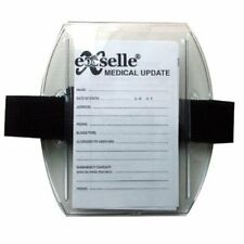 Medical Info Card Holder Horse Riding Equine Arm Band or Jogging Walking Biking