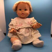 """Ideal Rub-A-Tub Vintage 70's Baby Doll 17"""" All Vinyl Bath Toy"""