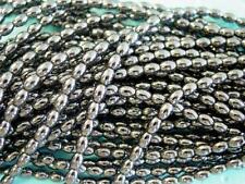 2 Strands of Hematite Oval Rice Beads Top Grade Quality