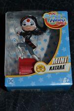 "2016 MATTEL DC SUPER HERO GIRLS MINI 2.5 "" KATANA"