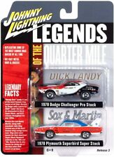Johnny Lightning 2-Pack 1970 Dodge Challenger & Plymouth Superbird Legends Of Th
